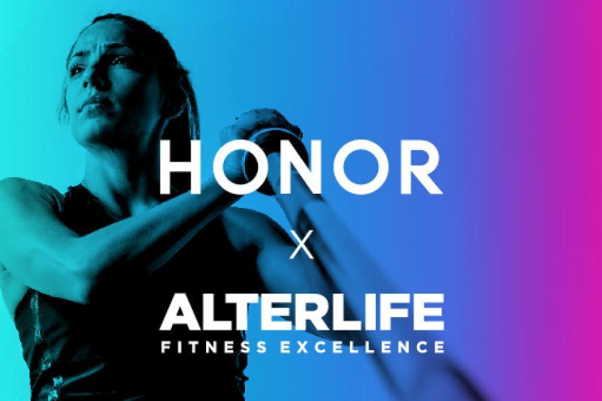 ΔΕΛΤΙΟ ΤΥΠΟΥ - Στρατηγική συνεργασία για την HONOR & την premium αλυσίδα γυμναστηρίων ALTERLIFE