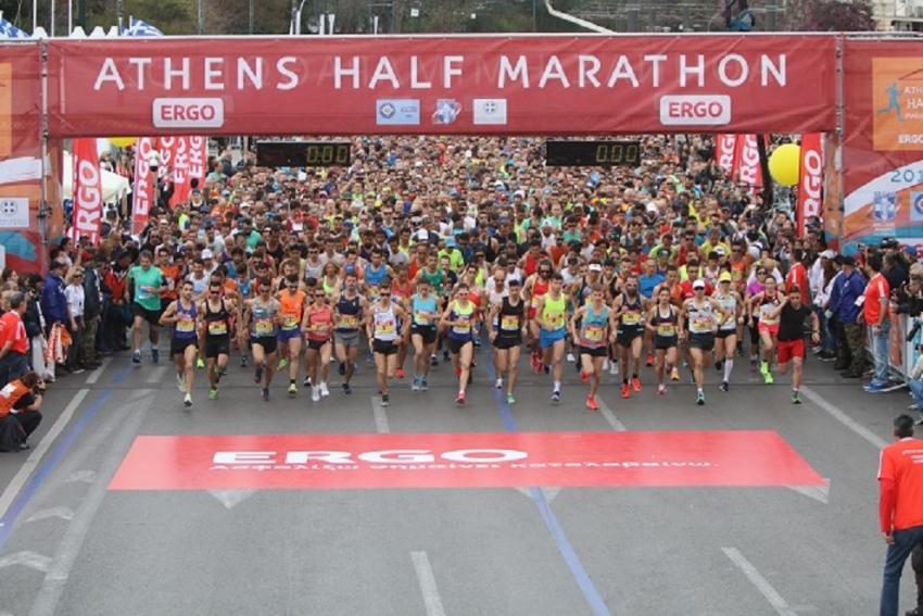 Και επίσημα ματαιώνεται ο Ημιμαραθώνιος της Αθήνας 2020