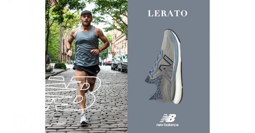 New Balance Lerato: Περισσότερα χιλιόμετρα… γρηγορότερη αποκατάσταση… με ανώτερη επιστροφή ενέργειας!