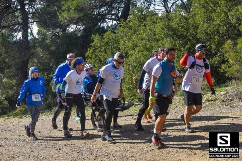 """ΔΕΛΤΙΟ ΤΥΠΟΥ - """"Δρομείς Ελπίδας"""" στο Salomon Cup της Πάρνηθας: Η πίστη νίκησε τις δυσκολίες"""
