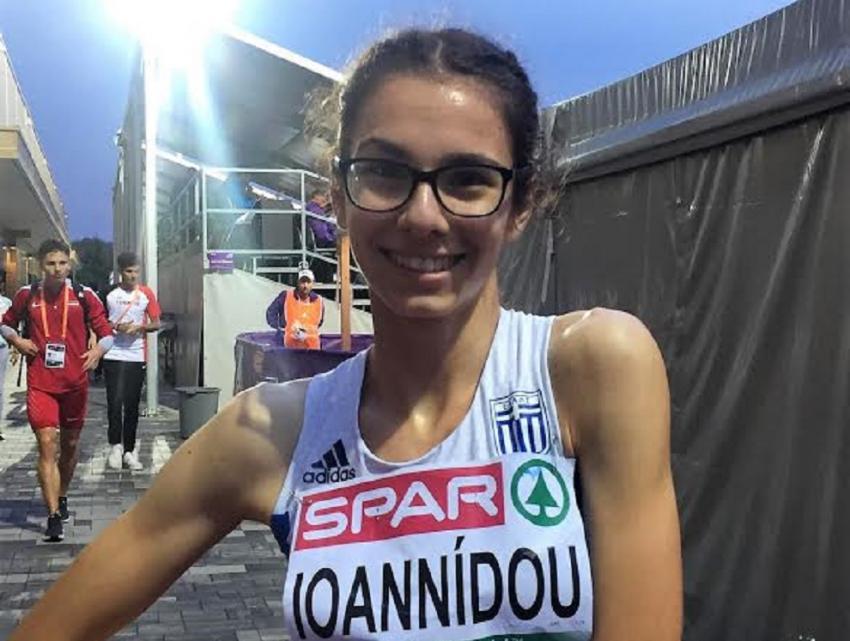 ΔΕΛΤΙΟ ΤΥΠΟΥ - Δωδέκατη στα 800 μέτρα η Ιωαννίδου στους Ολυμπιακούς Νέων